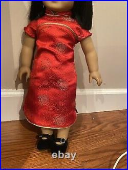 Ivy Ling American Girl Doll, Perfect Condition new year Outfit + Original Outfit