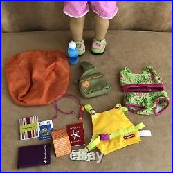 Jess American Girl Doll clothing kayak travel lot of the Year 2006 outfit GOTY