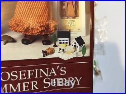 Josefina's Summer Story Mib Outfit, Farm, Santa Fe Fun American Girl Doll Acc