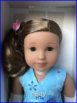 Kanani American Girl Doll New In Box- Hair Netted, Meet Outfit, Flower, Box