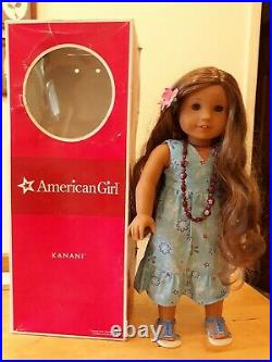 Kanani American Girl doll, original outfit and box. Pre-owned