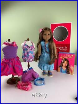 Kanani Doll with Outfits, Box, Book, American Girl, Gorgeous