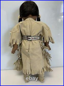 Kaya American Girl Doll with 3 Outfits +Boots + Accessories Blue Pow Wow Retired