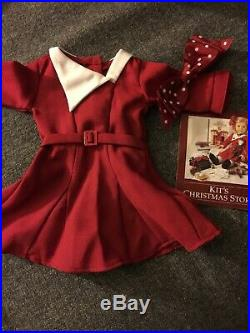 Kit Kittredge American Girl Doll Bundle And Many Rare Outfits Pleas (Retired)