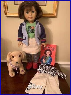 Lindsey Bergman American Girl Doll original Meet Outfit Book Pleasant Company