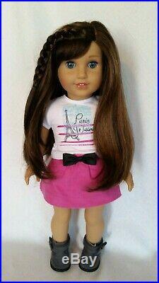 Lot American Girl Doll Grace Thomas Bon Bon City & Baking Outfits Coat Bracelets