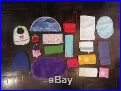 Lot of 113 Authentic American Girl Doll Clothes Outfits Gowns accesories dress
