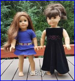 Lot of 2 AMERICAN GIRL Dolls With OUTFITS