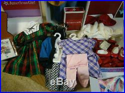 MINT American girl doll JULIE, CLASSIC ORIGINAL model, With Outfits Guitar More
