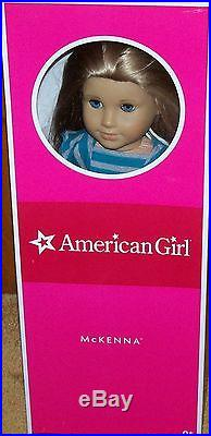MINT Retired American Girl Doll McKenna Original Outfit Box +2 Extra Dresses Lot