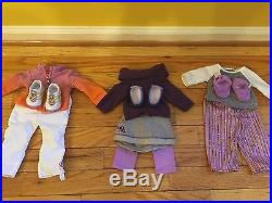 McKenna American Girl Doll With 4 Outfits