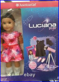 NEWAmerican Girl Luciana DollBook Telescope Outfit Accessories EXCLUSIVE