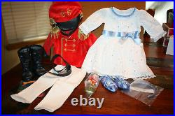 NEW AG American Girl Nutcracker Prince & Clara Outfit Set Limited Edition NIB