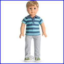 NEW AMERICAN GIRL DOLL 18' Boy Truly Me #74 + meet outfit 2018 Luciana friend