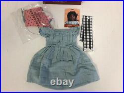 NEW American Girl Addy Kit Flying Outfit NIB Box Ribbon RARE! RETIRED 2005