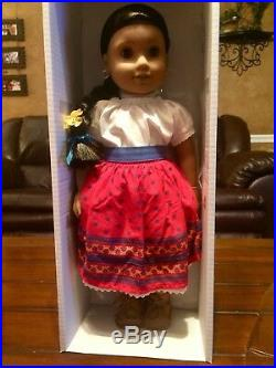 NEW American Girl DOLL JOSEFINA IN MEET OUTFIT/clothes With 2 BOOK And AG BOX