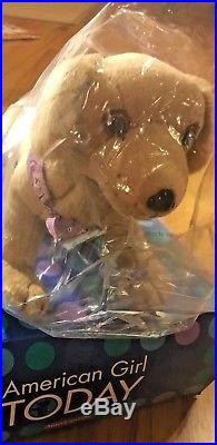 NEW- American Girl DOLL KAILEY, GOTY 2003 RETIRED, & 2 OUTFITS & SANDY the Dog
