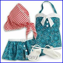 NEW American Girl Doll Maryellens VACATION PLAYSUIT outfit NRFB 1950s RARE HTF