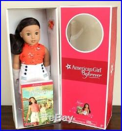 NEW American Girl Doll NANEA DOLL + MEET OUTFIT + BOOK Beforever New In Box