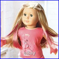 NEW American Girl ISABELLE 18 Doll Book Hair Extensions Ballerina Meet outfit