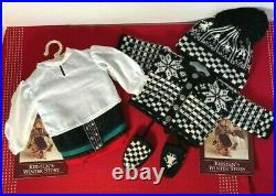 NEW American Girl Kirsten Pleasant Company Winter Outfit and Knit Woolens NIP