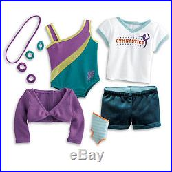 NEW American Girl McKenna's Practice Gymnastics Wardrobe Outfit 16 Pieces
