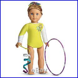 NEW American Girl McKenna's Rhythmic Gymnastics Performance Outfit Set Leotard