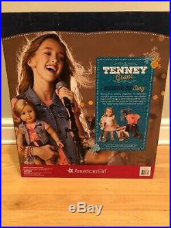 NEW American Girl Tenney Grant Doll + Book, Spotlight Outfit, Accessories Set