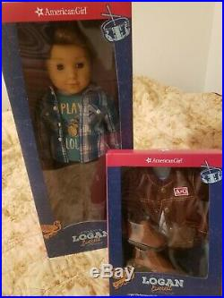 NEW IN BOX American Girl Logan Doll PLUS Performance Outfit