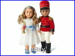 NEW NIB American Girl AG Nutcracker Prince and Clara outfit set, limited edition