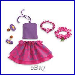 NEW! NIB American Girl Kanani's Hawaiian Luau Outfit Set RETIRED! HTF