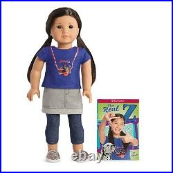 NEW in Box American Girl 18 Z Yang Doll Camera Ready Outfit Sold Out Retired