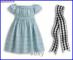 NIB American Girl Addy Flower-Picking Outfit Also Called Addy's Dress & Bouquet