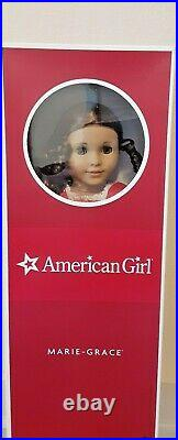 NIB American Girl DOLL MARIE-GRACE withMEET OUTFIT, BOOK, Wrist Tag
