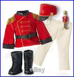 NIB American Girl Limited Edition Nutcracker Prince and Clara Outfits COMPLETE