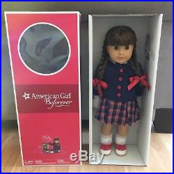 NIP American Girl Molly doll glasses meet outfit Beforever new
