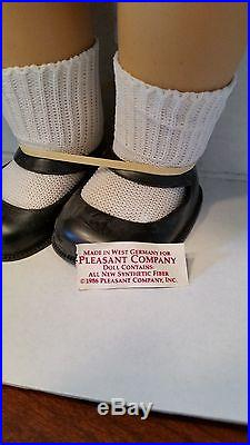 NRFB American Girl Molly, outfits, Pleasant Company, made in West Germany 1986