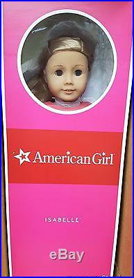 New AG American Girl Doll 18 Isabelle Year Dance Ballet Outfit Blonde Blue Free