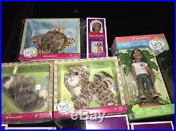 New American Girl Doll LEA GIGANTIC LOT Sets Outfits Accessories Pets Retired