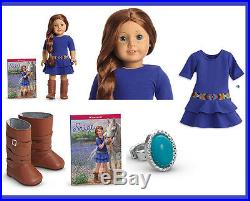 New American Girl Doll Year Saige 18 Boots Riding Cowboy Outfit Same Day Shipp