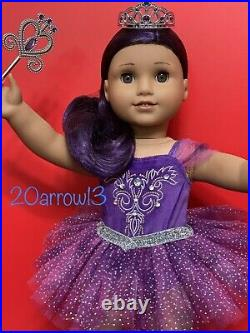 New American Girl Nutcracker Sugar Plum Fairy Outfit & Truly Me Doll #86