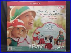 New Kit Kittredge American Girl 18 Doll Report Set Camera Book 2 Outfits 16 Pc