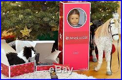New! Saige American Girl Doll of the Year with her Horse, her Dog and outfits