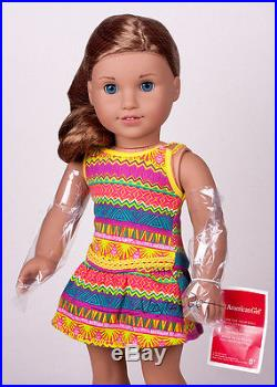 OOAK Gorgeous American Girl Doll Lea Custom with JLY blue eyes box outfit