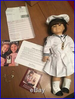 Original American Girl Doll Samantha With 4 Additional Outfits