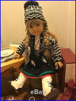 Original Kirsten American Girl Doll -Plus Trunk, Table & Chair, 3 Outfits, Books