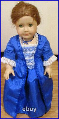 Original Pleasant Company American Girl FELICITY Doll with1994 Christmas Outfit