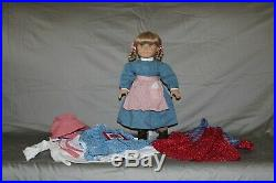 Original Pleasant Company Retired Kirsten American Girl Doll with Extra Outfits