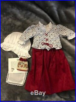 PLEASANT COMPANY AMERICAN GIRL Retired FELICITY with School Outfit, Accessories