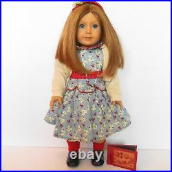 PLEASANT COMPANY Emily Doll Retired American Girl in Meet Outfit Molly's Friend